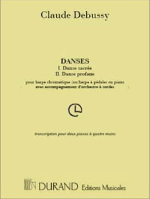 Danses - DEBUSSY - Partition - Piano - laflutedepan.com
