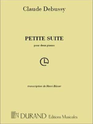DEBUSSY - Small Suite. 2 Pianos - Partition - di-arezzo.co.uk