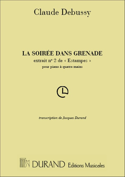 La Soirée dans Grenade. 4 Mains - DEBUSSY - laflutedepan.com