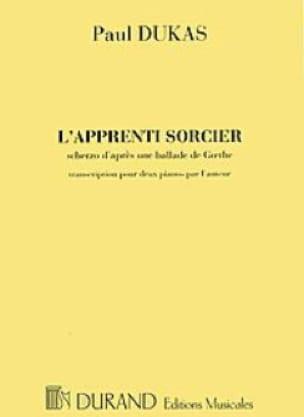 L' Apprenti Sorcier. 2 Pianos - DUKAS - Partition - laflutedepan.com