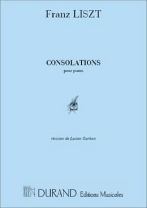 6 Consolations. - LISZT - Partition - Piano - laflutedepan.com