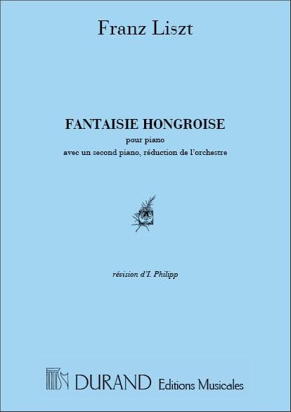 Franz Liszt - Fantasía húngara. 2 pianos - Partition - di-arezzo.es