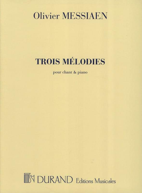 3 Mélodies - MESSIAEN - Partition - Mélodies - laflutedepan.be