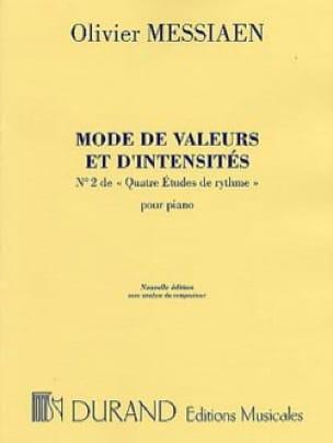 Mode de Valeurs et D'intensité - MESSIAEN - laflutedepan.com