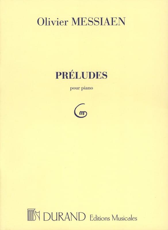 Olivier Messiaen - 8 Preludes. - Partition - di-arezzo.co.uk