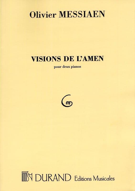 Visions de l' Amen. 2 Pianos - Olivier Messiaen - laflutedepan.com