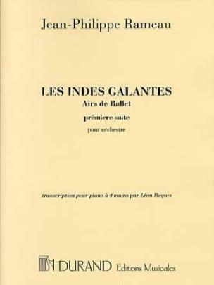 Les Indes Galantes Suite N° 1. 4 Mains - RAMEAU - laflutedepan.com