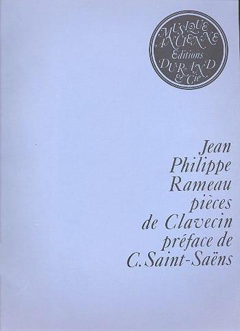 Jean-Philippe Rameau - Piezas de clavicordio - Partition - di-arezzo.es