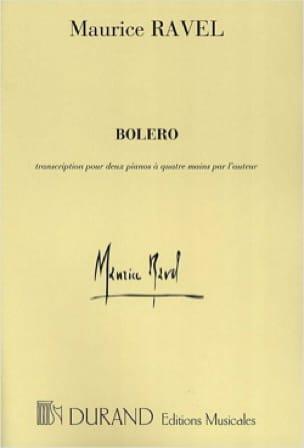 Maurice Ravel - Bolero. 2 pianos - Partition - di-arezzo.com