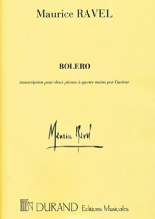 Maurice Ravel - Bolero. 4 Hands - Partition - di-arezzo.co.uk