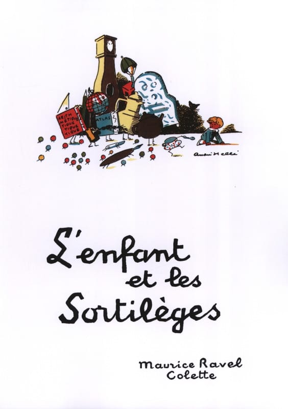 L'Enfant et les Sortilèges - RAVEL - Partition - laflutedepan.com