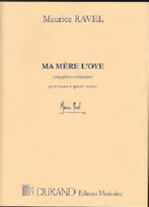 Maurice Ravel - My Mother L'oye. 2 Pianos - Partition - di-arezzo.com