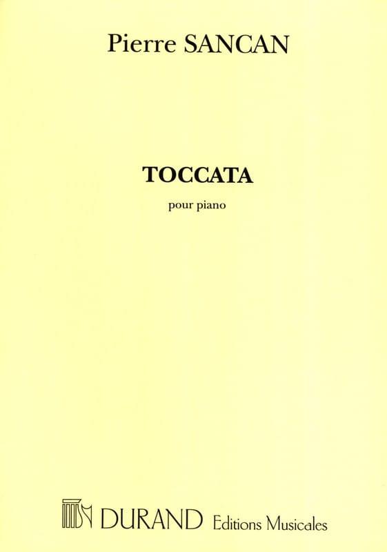 Toccata - Pierre Sancan - Partition - Piano - laflutedepan.com