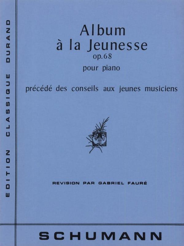Album A la Jeunesse Opus 68 - SCHUMANN - Partition - laflutedepan.com