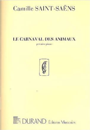 Camille Saint-Saëns - Carnival of Animals 1st Piano Solo Orchestra. - Partition - di-arezzo.co.uk