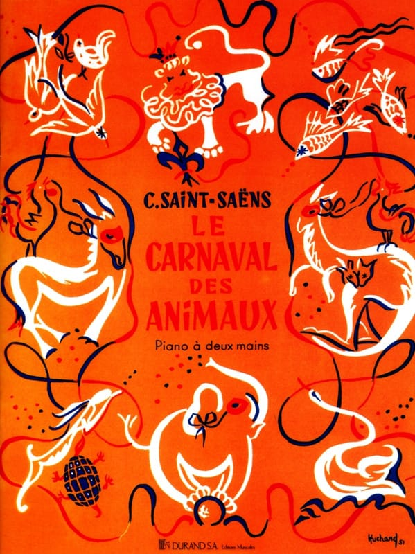 Camille Saint-Saëns - Carnival of the Animals. Piano - Partition - di-arezzo.co.uk
