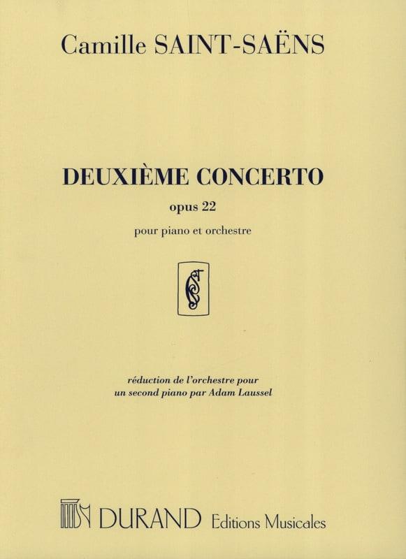Camille Saint-Saëns - Concerto pour piano n° 2 Opus 22 - Partition - di-arezzo.fr