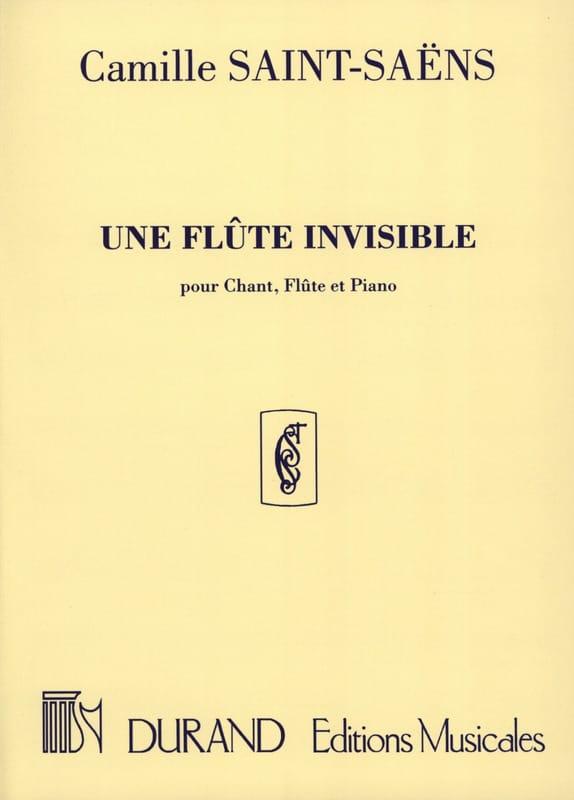 Une Flûte Invisible - SAINT-SAËNS - Partition - laflutedepan.com