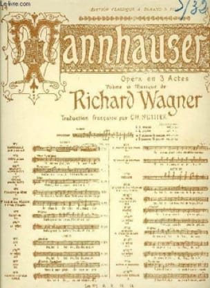 Richard Wagner - Romance of the star. Tannhauser - Partition - di-arezzo.com