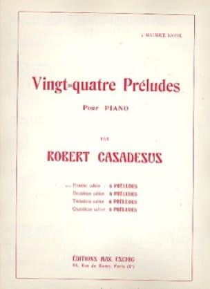 24 Préludes Piano Volume 1 - CASADESUS - Partition - laflutedepan.com