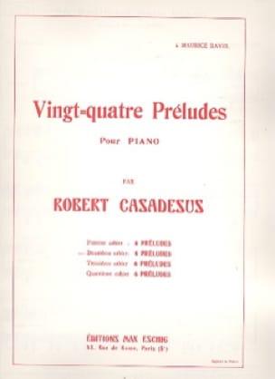 Robert Casadesus - 24 Preludes Piano Volume 2 - Partition - di-arezzo.co.uk