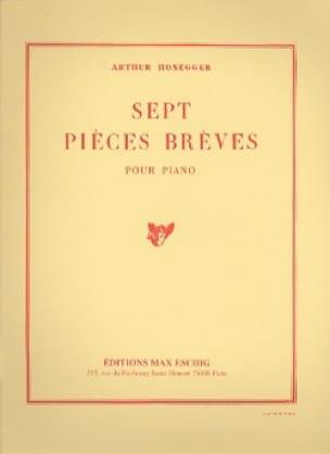7 Pièces Brèves - HONEGGER - Partition - Piano - laflutedepan.com