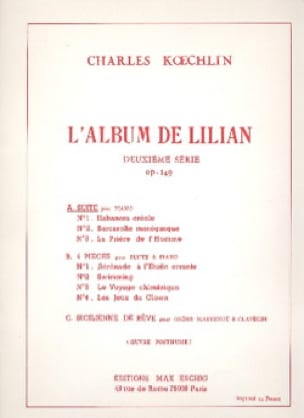 L'album de Lilian 2ème Série Op. 149 - laflutedepan.com