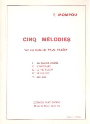 5 Mélodies sur des Textes de P. Valéry - laflutedepan.com