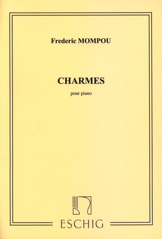 Federico Mompou - Charmes - Partition - di-arezzo.fr