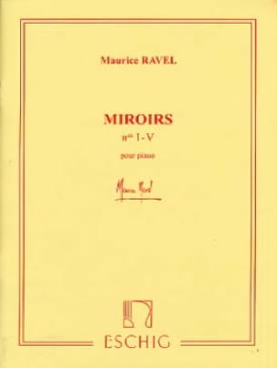 Maurice Ravel - mirrors - Partition - di-arezzo.co.uk