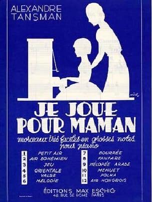 Je Joue Pour Maman N° 7 Bourrée - laflutedepan.com