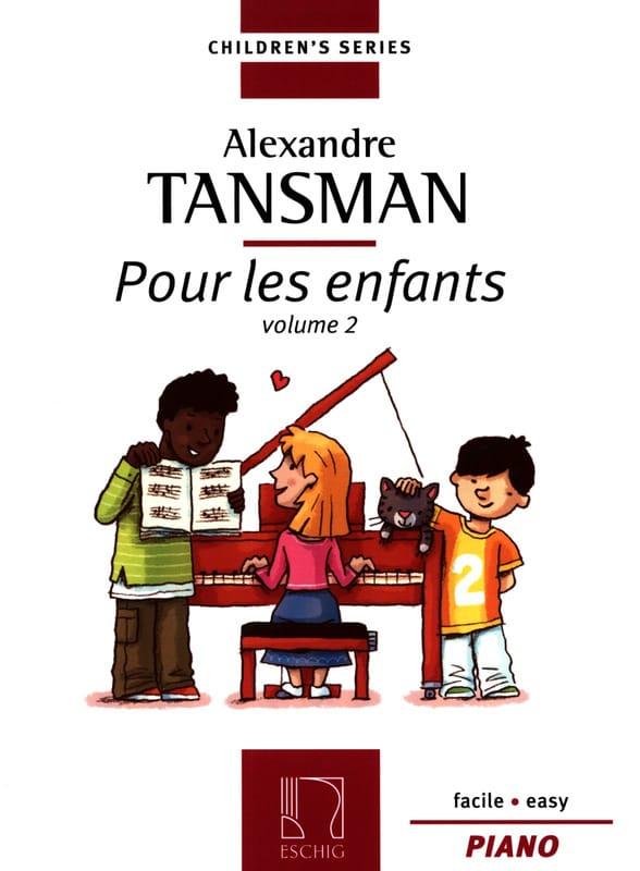 Pour les Enfants Volume 2 - Alexandre Tansman - laflutedepan.com