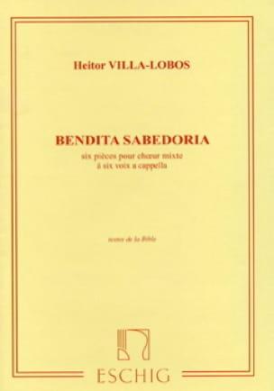 Heitor Villa-Lobos - Bendita Sabedoria - Partition - di-arezzo.co.uk
