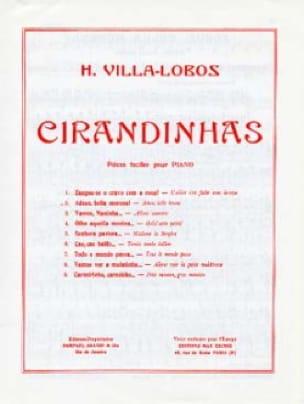Heitor Villa-Lobos - Cirandinhas N ° 2 - Partition - di-arezzo.com