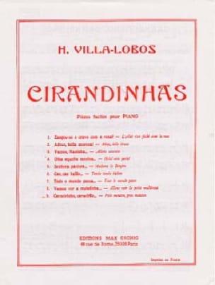 Heitor Villa-Lobos - Cirandinhas N ° 9 - Partition - di-arezzo.com