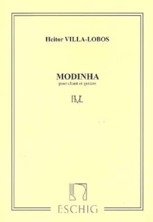Modinha - VILLA-LOBOS - Partition - Guitare - laflutedepan.com