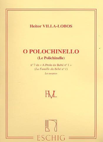 Heitor Villa-Lobos - A Prole de Bebe Volume 1 No. 7 Polichinelle - Partition - di-arezzo.com