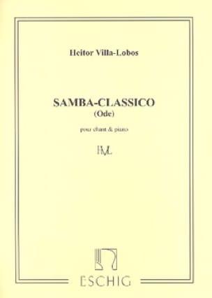 Heitor Villa-Lobos - Samba Classico - Partition - di-arezzo.co.uk