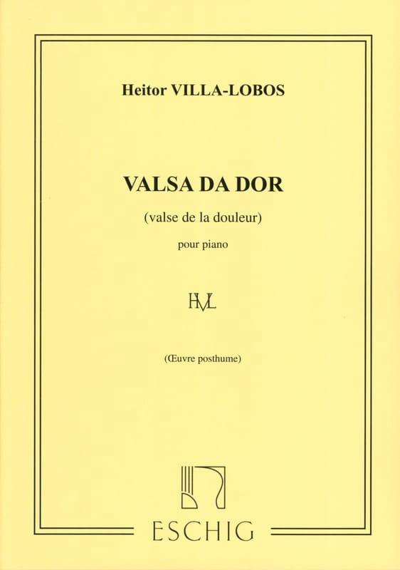 Heitor Villa-Lobos - Valsa Da Dor - Partition - di-arezzo.com