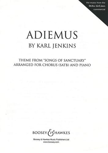 Karl Jenkins - Adiemus - Partition - di-arezzo.co.uk
