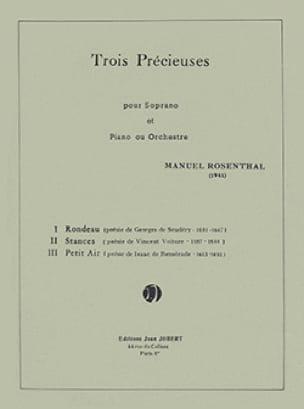 Manuel Rosenthal - 3 precious - Partition - di-arezzo.com