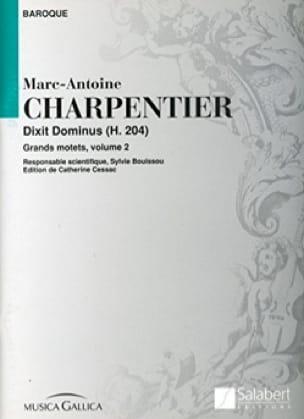 Dixit Dominus H 204 - CHARPENTIER - Partition - laflutedepan.com