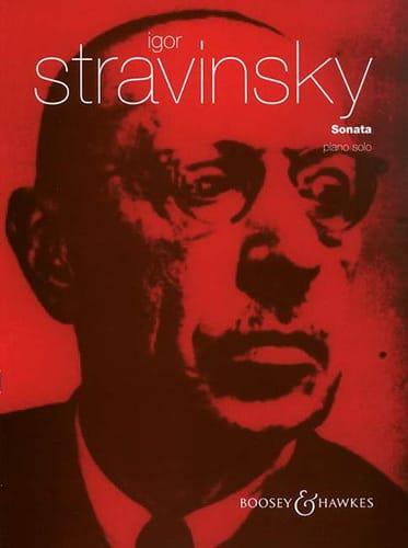 Sonate - Igor Stravinski - Partition - Piano - laflutedepan.com