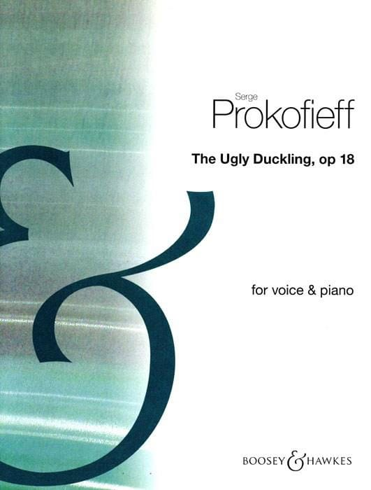The Ugly Duckling Opus 18 - PROKOFIEV - Partition - laflutedepan.com