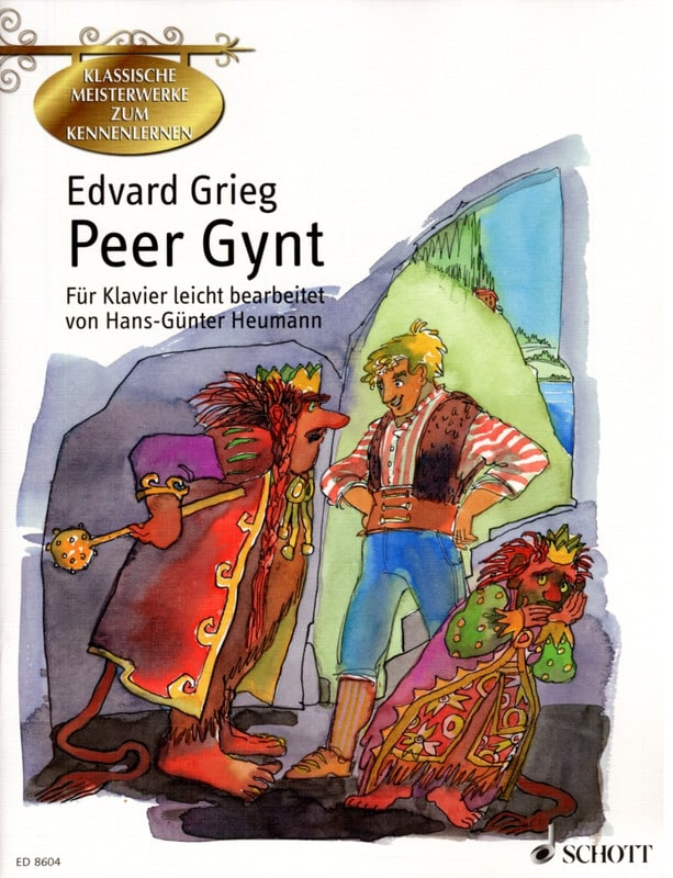 Edward Grieg - Peer Gynt - Partition - di-arezzo.co.uk