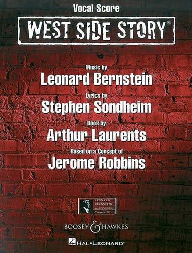 Leonard Bernstein - West Side Story - Partition - di-arezzo.es