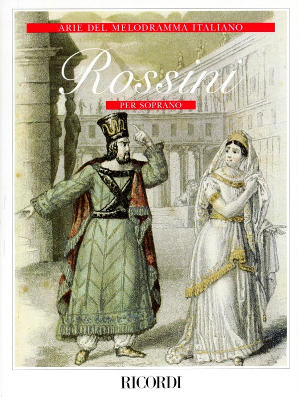 Gioachino Rossini - Arie Del Melodramma Italiano Per Soprano - Partition - di-arezzo.co.uk