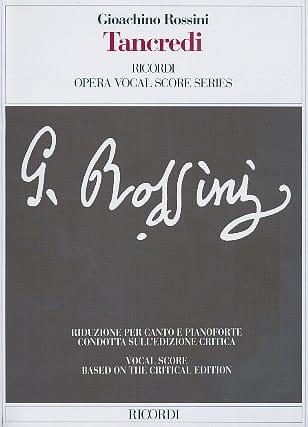 Gioachino Rossini - Tancredi - Partition - di-arezzo.co.uk
