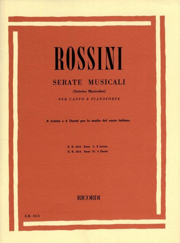 Gioachino Rossini - Serate Musicali Volume 1 - Partition - di-arezzo.es