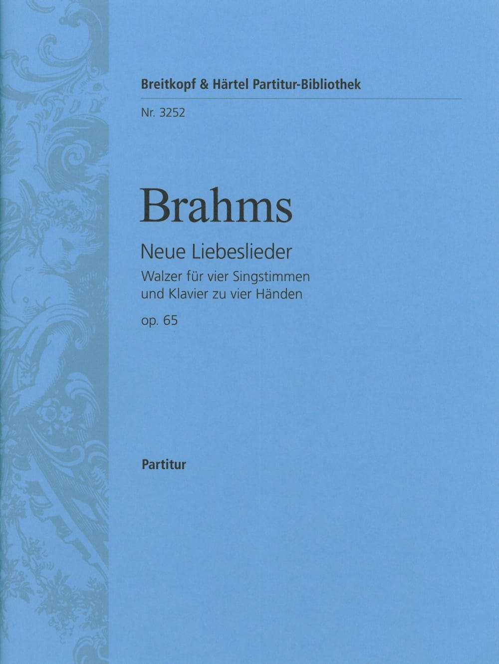 BRAHMS - Neue Liebeslieder Walzer Opus 65 - Partition - di-arezzo.co.uk